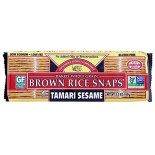 [Edward & Sons] Brown Rice Snaps Tamari Sesame