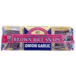 [Edward & Sons] Brown Rice Snaps Onion Garlic