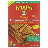 [Annie`S Homegrown] Crackers Cinnamon Grahams  At least 70% Organic