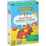[Annie`S Homegrown] Bernie`s Farm Animal Cookies  At least 70% Organic