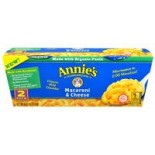 [Annie`S Homegrown] Microwavable Single Servings Mac & Cheese, Classic, 2 Pack  At least 70% Organic