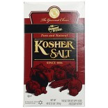 [Diamond Crystal] Pure & Natural Kosher Salt Box Container