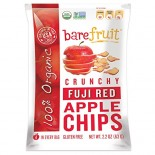 [Bare Fruit] Crunchy Apple Chips Fuji Red  100% Organic