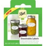 [Ball] Preserving Accessories Dissolvable Labels