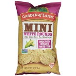 [Garden Of Eatin`] Chips Mini White Rounds  At least 70% Organic