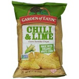 [Garden Of Eatin`] All Natural Cantina Chips Chili & Lime  At least 70% Organic
