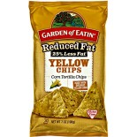 [Garden Of Eatin`] Corn Chips Reduced Fat Yellow Tortilla  At least 95% Organic