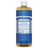 [Dr. Bronner`S Magic Soaps] Organic Liquid Soap Peppermint  At least 70% Organic