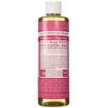[Dr. Bronner`S Magic Soaps] Organic Liquid Soap Rose  At least 70% Organic