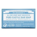 [Dr. Bronner`S Magic Soaps] Organic Bar Soap Baby, Unscented  At least 70% Organic