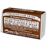 [Dr. Bronner`S Magic Soaps] Organic Bar Soap Eucalyptus  At least 70% Organic