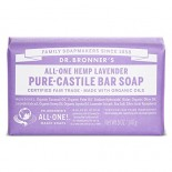 [Dr. Bronner`S Magic Soaps] Organic Bar Soap Lavender  At least 70% Organic