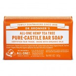 [Dr. Bronner`S Magic Soaps] Organic Bar Soap Tea Tree  At least 70% Organic