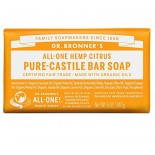[Dr. Bronner`S Magic Soaps] Organic Bar Soap Citrus Orange