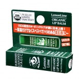 [Dr. Bronner`S] Organic Lip Balms Lemon Lime  At least 95% Organic