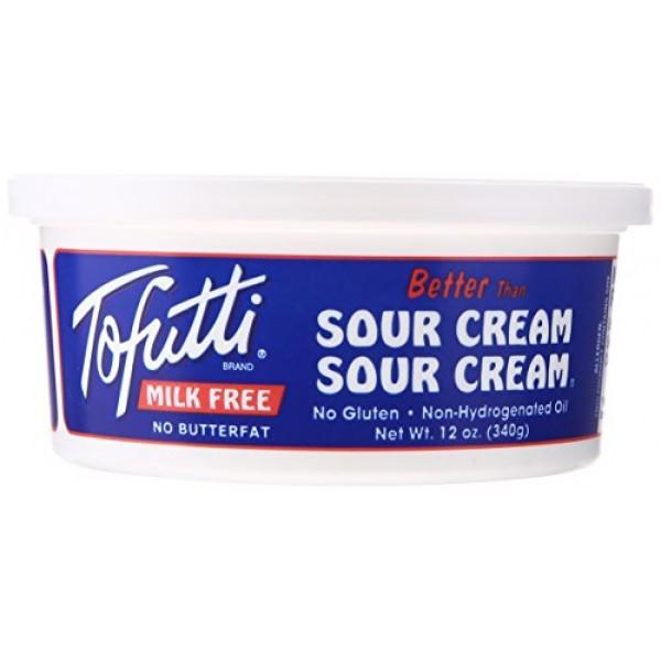Tofutti Brands, Inc ] Non-Dairy Sour Cream Supreme, Non