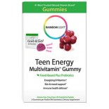 [Rainbow Light]  Multi Vit Gummy,Teen Energy,Grape