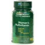 [Rainbow Light] Certified Organic Multivitamins Women`s  At least 70% Organic