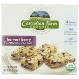 [Cascadian Farm] Granola Bars Harvest Berry Chewy  At least 95% Organic