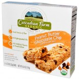 [Cascadian Farm] Granola Bars Peanut Butter Chip  At least 95% Organic
