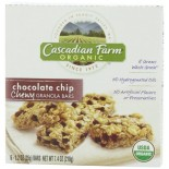 [Cascadian Farm] Granola Bars Chocolate Chip Chewy  At least 95% Organic