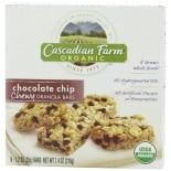[Cascadian Farm] Granola Bars Chocolate Chip Chewy  At least 95% Organic
