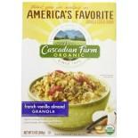 [Cascadian Farm] Cereals French Vanilla Almond Granola  At least 95% Organic
