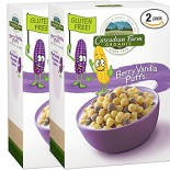 [Cascadian Farm] Cereals Berry Vanilla Puffs  At least 95% Organic