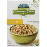 [Cascadian Farm] Cereals Purely O`s  At least 95% Organic