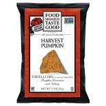 [Food Should Taste Good] Tortilla Chips Harvest Pumpkin