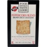 [Food Should Taste Good] Brown Rice Crackers Peppercorn Blend