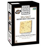 [Food Should Taste Good] Brown Rice Crackers Sea Salt