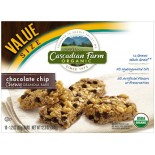 [Cascadian Farm] Granola Bars Chewy, Chocolate Chip  At least 95% Organic