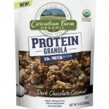 [Cascadian Farm] Cereals Protein Granola, Dk Choc Coconut  At least 95% Organic