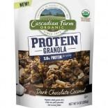 [Cascadian Farm] Cereals Protein Granola, Dk Choc Coconut  At least 95% Organic