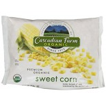 [Cascadian Farm] Bagged Vegetables Sweet Corn, Whole Kernel  At least 95% Organic