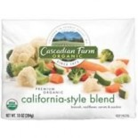 [Cascadian Farm] Bagged Vegetables California Blend  At least 95% Organic