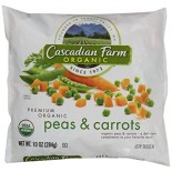 [Cascadian Farm] Bagged Vegetables Peas & Carrots  At least 95% Organic