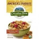 [Cascadian Farm] Cereals Maple Brown Sugar Granola  At least 95% Organic