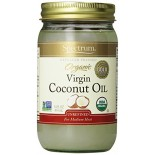 [Spectrum Naturals] Oils Coconut Oil, Unrefined  At least 95% Organic