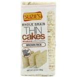 [Suzie`S] Thin Cakes Brown Rice, Unsalted