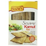 [Suzie`S] Flatbreads Flatbread, Kamut, Sesame