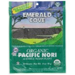 [Emerald Cove] Sea Vegetables Pacific Nori, .9 oz  At least 95% Organic