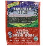[Emerald Cove] Sea Vegetables Sushi Nori, Toasted  At least 95% Organic