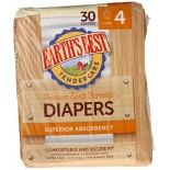 [Earth`S Best] Tender Care Diapers, Size 4
