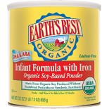 [Earth`S Best Baby Foods] Infant Formula Soy With Iron  At least 95% Organic