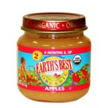 [Earth`S Best Baby Foods] Fruit & Vegetables Apple Puree  At least 95% Organic