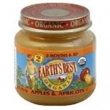 [Earth`S Best Baby Foods] Fruit & Vegetables Apples & Apricots  At least 95% Organic