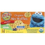 [Earth`S Best Baby Foods] Sesame Street Line Mini Waffle Blueberry  At least 95% Organic