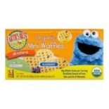 [Earth`S Best Baby Foods] Sesame Street Line Mini Waffle Regular  At least 95% Organic